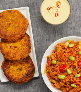 vegetarisk-catering-från-cajsas-kök-med-kikärtsbiffar