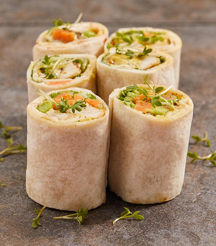 snittar-wrap-med-kyckling-catering-bröllop-uppsala