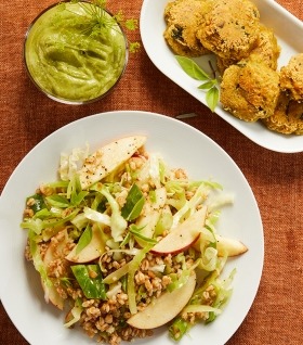 vegansk höstbuffé - lunchbuffé - uppsala